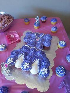 Cute lil girls bday cake