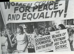 Women's Strike for Equality in New York around Fifth Avenue, August 26, 1970