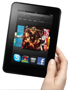 New Giveaway has just opened up :)  The HD Kindle Fire Giveaway