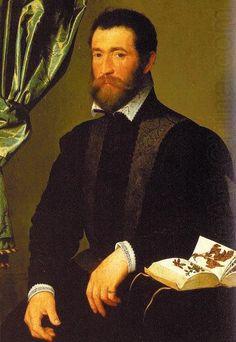 CLOUET François - French (Tours circa 1515-1572 Paris) - Pierre Quthe : An Apothecary