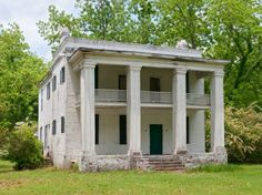 CAHAWBA, ALABAMA (Ghost town) The state's first capital takes its name from the state's longest river, situated at the confluence of the Cahaba and the Alabama. It was abandoned after the Civil War. (Photo by Stephen Saks)