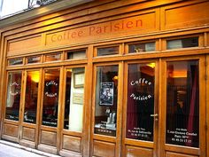 Le Coffee Parisien -  4 Rue Princesse 75006 Paris 01 43 54 18 18 ou 7 Rue Gustave Courbet 75116 Paris 01 45 53 17 17