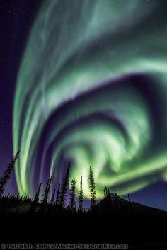 ~~The aurora borealis lights the nights sky in Alaska's Brooks range, arctic, Alaska by Patrick J. Endres | AlaskaPhotoGraphics~~