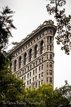 The Flatiron Building, New York City, from Madison Square Park- From the world of Marc Weisberg Architectural | Real Estate Interior photography.