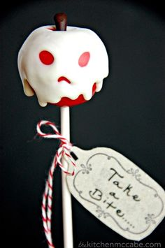 Poisoned Apple Cake Pops How-To