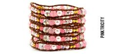 $34 for a Beautiful Hand-Made Leather Wrap Bracelet by Victoria Emerson ($199 Value)