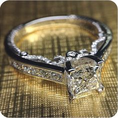 Channel set Verragio #engagement #ring