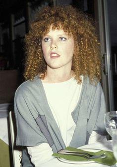 Nicole Kidman curly fringe