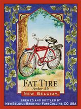 Fat Tire Amber Ale by New Belgium Brewing - great beer.