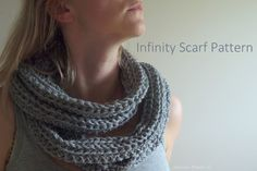 Be Creative Mommy !!!: Double Loop Crochet Infinity Scarf Pattern.