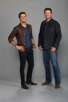 Luke Bryan and Blake Shelton!