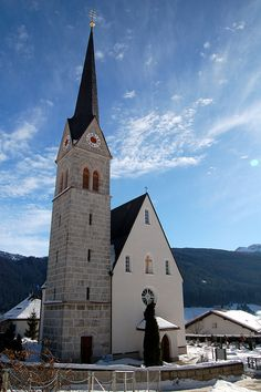 Gosau, catholic church   St. Sebastian Austria