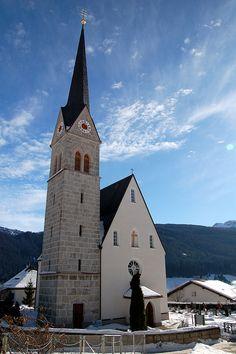 Gosau, catholic church   St. Sebastian Austria
