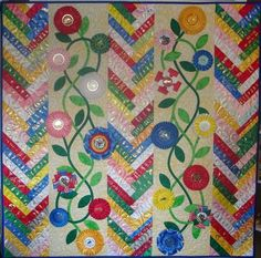 4-H ribbon quilt