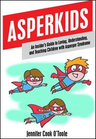 """Asperkids: An Insiders's Guide to Loving, Understanding and Teaching Children with Asperger Syndrome""    ""One of the Top 12 Books to Read if a Loved One is Diagnosed with ASD"" by Autism Asperger's Digest  If you are the parent or teacher of an Asperkid — this is THE book you need to read."