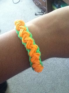 My own design. I'm going to call it the zig zag chain bracelet. Please give me credit if you make it.
