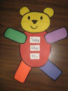 Teddy Bear Craft