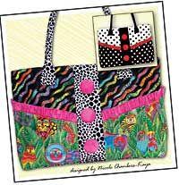handbag patterns, totsi handbag, purs pattern