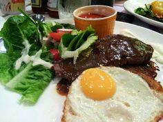 Breakfast steak!
