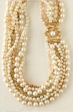 You can never have too many pearls