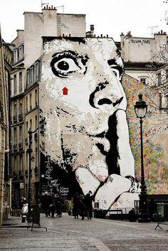 Paris - Rue de la Verrerie, 2012 #streetart #graffiti #Street art