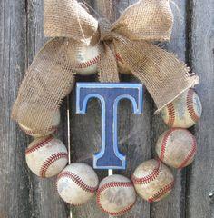 Baseball Wreath...Hmmm!
