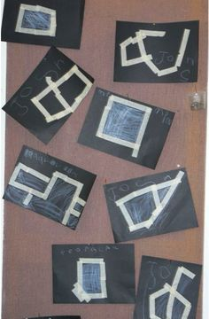 masking tape pictures - - Pinned by #PediaStaff.  Visit http://ht.ly/63sNt for all our pediatric therapy pins