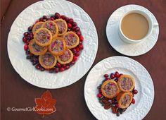 Gourmet Girl Cooks: Chocolate-Cranberry Pecan Tartlets - NEW RECIPE ALERT!