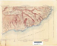 Haleakala topographic 1925