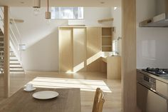 Nice example of different tones of wood working well together