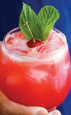 Sparkling Cherry Lemonade