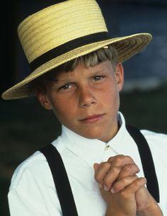 Amish Boy, Pennsylvania, USA
