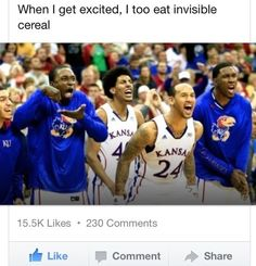 I too eat invisible cereal.
