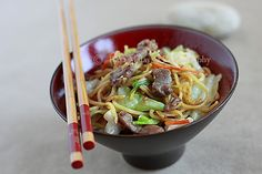 Yakisoba (Japanese Fried Noodles/焼きそば)