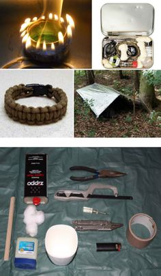 DIY Survival: 15 Clever Kits, Tricks and Hacks   Includes photos and videos of instructions and procedures! WOW!