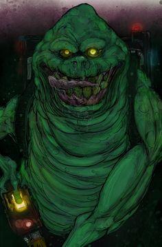 Slimer - Ghostbusters - T-RexJones.deviantart.com