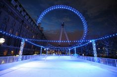 Ice skating - or Eye
