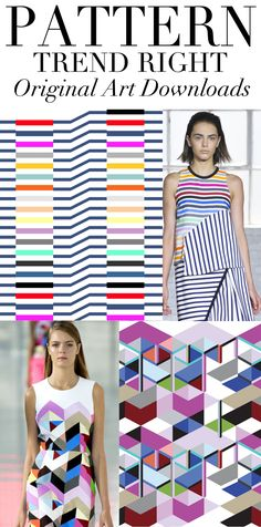 TREND COUNCIL- SS 2014 PATTERN DIRECTION