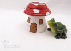 Clay Pot Fairy Garden House - Vicki ODell... The Creative Goddess