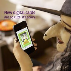 Introducing Digital Cards: Cast a spell, and a smile. Like magic, make and send digital cards with the snap of your fingers.