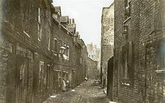 Old Nichol St 1880s, a no go area
