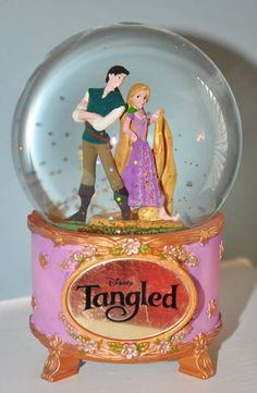 Disney Store Collectible- Tangled Snowglobe