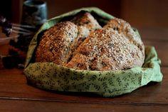 Easy Seedy Salty Soda Bread.