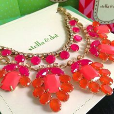 Spring Awakening Necklace by Stella & Dot.