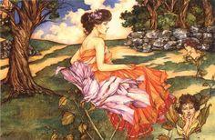 secret gardens, fantasi artist, tom canti, garden artist, thing art