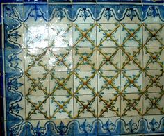 original antique Portuguese will tiles