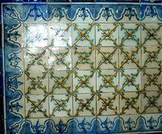 original antique Portuguese will tiles