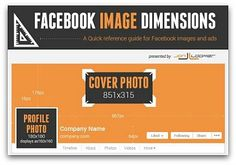 Infographic: A quick guide to Facebook's new image dimensions | Articles | Main