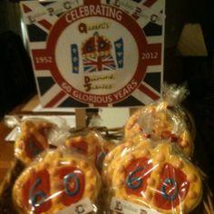 Queens Diamond Jubilee cookies