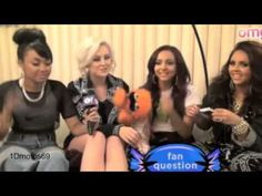Little Mix talking about One Direction.